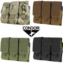 Condor MA58 Triple .223 or 5.56mm Magazine Pouch- OD Green/ Black/ Coyote Brown/ MultiCam