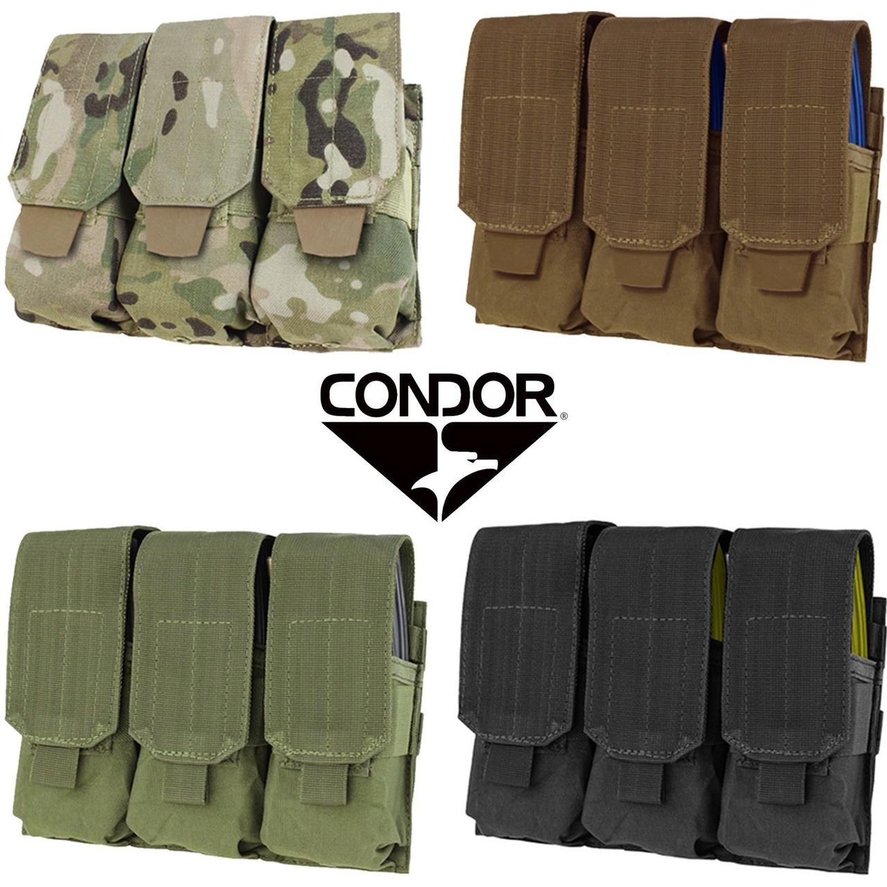 Coyote Condor Triple 5.56 Molle Magazine Pouch MA58-498