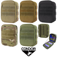 Condor MA64 MOLLE Tactical Side Kick Elastic Tool Utility Pouch- OD Green/ Black/ Coyote Brown/ MultiCam