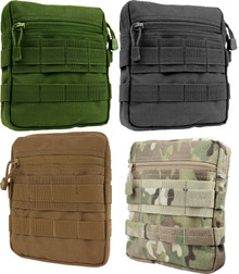 Condor MA67 MOLLE Tactical General Purpose G.P. Utility Pouch- OD Green/ Black/ Coyote Brown/ MultiCam