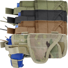 Condor MA68 MOLLE Tactical Horizontal HT Holster- OD Green/ Black/ Coyote Brown/ MultiCam