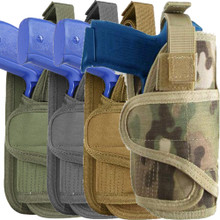 Condor MA69 Molle Tactical Vertical VT Pistol Holster- OD Green/ Black/ Coyote Brown/ MultiCam