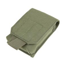 Condor MA73 Molle Tactical Tech Sheath Pouch for Phone Camera GPS- OD Green/ Black/ Tan