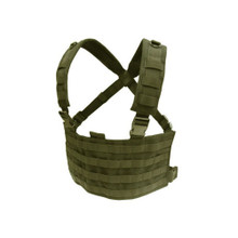 Condor MCR4 OPS Operator MOLLE Tactical Chest Rig- OD Green/ Black/ Coyote Brown