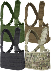 Condor MCR4 OPS Operator MOLLE Tactical Chest Rig- OD Green/ Black/ Coyote Brown/ MultiCam