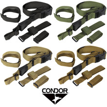 Condor T3PS Cross Shoulder Quick Release Tactical 3 Point Rifle Sling- OD Green/ Black/ Tan/ Coyote Brown
