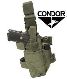 Condor TTLH Tornado Tactical Leg Pistol Holster Pouch- OD Green