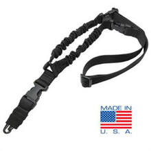 Condor US1001 Cobra Type Tactical One Point Bungee Sling- OD Green/ Black/ Tan