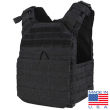 Condor US1020 Molle Tactical Cyclone Lightweight Plate Carrier- Black/ Tan