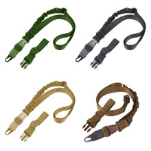 Condor US1021 VIPER  Tactical Single Bungee One Point Mamba Rifle Sling- OD Green/ Black/ Tan/ Coyote Brown