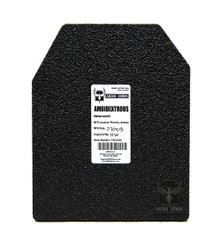 """AR500 Armor® 8"""" x 10"""" Patented Advanced Shooters Cut Level III Body Armor Plate"""