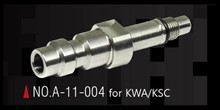 Action Army AAC-A11-004 Stately Steel CNC HPA Adapter Nozzle Valve (US) for KWA / KSC GBB