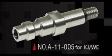 Action Army AAC-A11-006 Stately Steel CNC HPA Adapter Nozzle Valve (US) for Tokyo Marui GBB