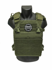 Condor 201079 Vanquish Plate Carrier- OD Green/ Black/ Coyote Brown