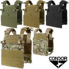 Condor 201079 Vanquish Plate Carrier- OD Green/ Black/ Coyote Brown/ MultiCam