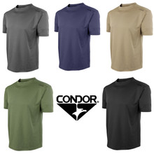 Condor 101076 Maxfort Performance Moisture Wicking Workout T-Shirt- OD Green/ Black/ Tan/ Navy Blue/ Graphite