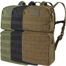 Condor HCB2 Hydration Carrier II Backpack w/ 2.5L Bladder Included- OD Green/ Black/ Coyote Brown