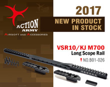 Action Army AAC-B01-026 VSR10 / KJ M700 Long Scope Rail