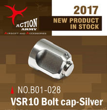 Action Army AAC-B01-028 VSR10 Bolt Cap (Silver)