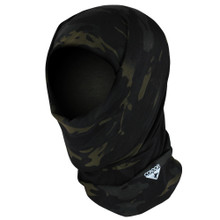 Condor 212-021 Tactical Multi Wrap Mask Face Recon Neck Ski Balaclava- MultiCam Black