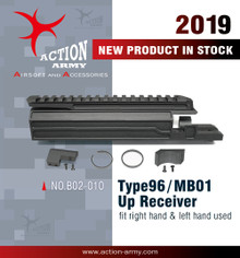 Action Army B02-010 TYPE96 / MB01 Upper for right hand and Left hand  for Maruzen TYPE 96 / Well MB01