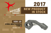 Action Army AAC-B01-025 VSR10 Bolt Handle-Type A for Tokyo Marui VSR10 /Well MB02 Well MB03