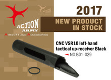 Action Army AAC-B01-029 VSR10 Full CNC Left-Hand Tactical Up Receiver - Black