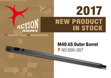 Action Army B06-007 One Piece Bull Barrel for Tokyo Marui M40A5