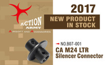 Action Army AAC-B07-001 Classic Army M24 LTR Gen 1 Silencer Connector