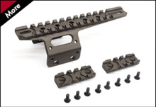 Action Army AAC-T10-30 T10 CNC Front Rail Set - FDE Color