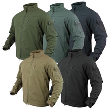 Condor 606 Phantom Soft Shell Breathable Waterproof Army Combat Jacket- OD Green/ Black/ Tan/ Navy Blue/ Graphite