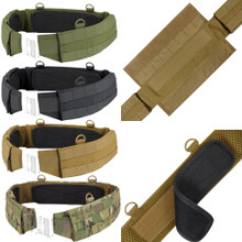 Condor 121160 Tactical MOLLE PALS Modular Nylon Padded Gear Battle Outer Belt