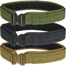 Condor 121175 Tactical MOLLE PALS Nylon Padded Battle LCS Cobra Gun Belt
