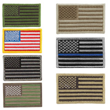 Condor 230 USA American Flag Morale Army Patch Velcro- OD Green/ Tan/ Red+White+Blue/ Foliage/ MultiCam/ Desert/ Graphite/ Coyote Brown