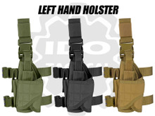 Condor 171170 Tornado Tactical Leg Holster (Left Hand)- OD Green/ Black/ Coyote Brown