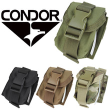 Condor MA15 Single Frag Grenade Pouch- OD Green/ Black/ MultiCam/ Coyote Brown