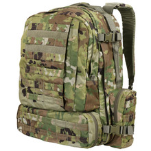Condor 125-800 3 Day Assault Patrol Pack Hiking Backpack - Scorpion OCP