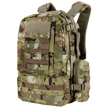 Condor 169-800 Tactical MOLLE Modular CONVOY Outdoor Hiking Backpack- Scorpion OCP