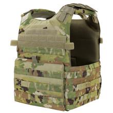 Condor 201039-800 Tactical MOLLE Gunner Lightweight Plate Carrier Vest- Scorpion OCP
