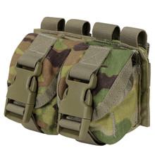 Condor MA14-800 Double Frag Grenade Pouch- Scorpion OCP