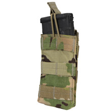 Condor MA18-800 Open Top Single Mag Pouch 5.56mm .223cal Rifle Magazine- Scorpion OCP