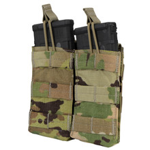Condor MA19-800 Double Open Top .223 or 5.56mm Magazine Pouch- Scorpion OCP