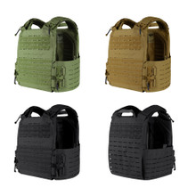 Condor 201216 VANQUISH RS Plate Carrier Vest- OD Green/ Black/ Coyote Brown