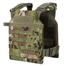 Condor 201042 Sentry MOLLE Lightweight Plate Carrier Quick Adjust - Scorpion OCP