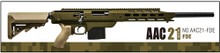 Action Army AAC-AAC21-FDE 21 Gas Sniper Rifle Airsoft Gun- FDE
