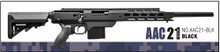 Action Army AAC-AAC21-BLK 21 Gas Sniper Rifle Airsoft Gun- BLK