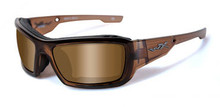 WILEY X KNIFE POL BRONZE LENS/BROWN CRYSTAL FRAME