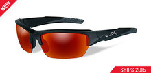 WILEY X VALOR POL CRIMSON MIRROR LENS/BLACK 2 TONE FRAME