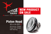 Action Army AAC-A04-003 AEG Airsoft Single O-Ring Piston Head for AEG Gearbox