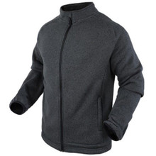 Condor 101050-018 Thermal Matterhorn Knitted Fleece Warm Jacket-Graphite